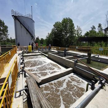 湖北好洁高浓度化工废水污水处理改造工程